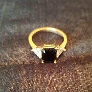 "Black ""diamond"" ring"